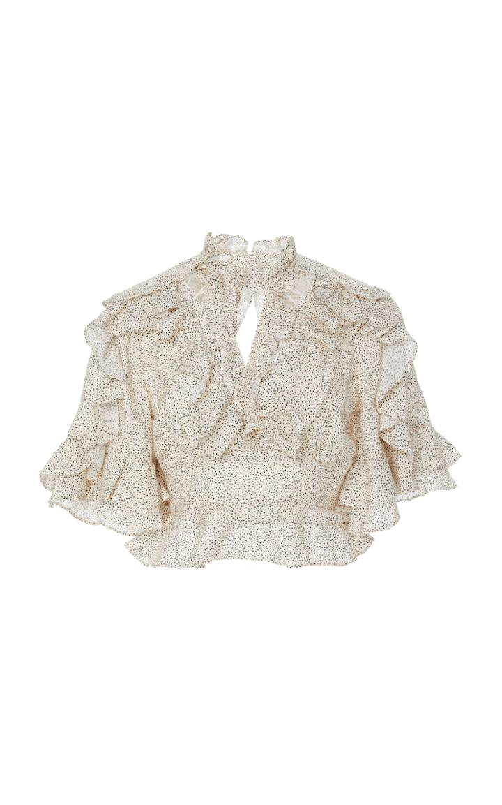 Acler Wickham Ruffled Cotton Top
