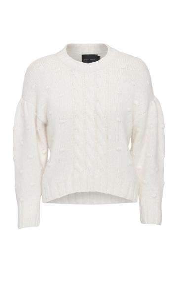 Moda Operandi Birgitte Herskind Ellinor Cable-knit Aplaca-blend Sweater