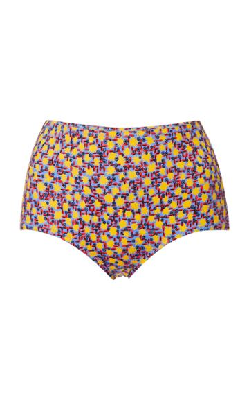 Solid & Striped The Ginger Printed Bikini Bottoms