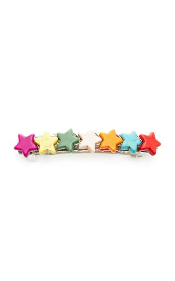Timeless Pearly Color-block Star Barrette