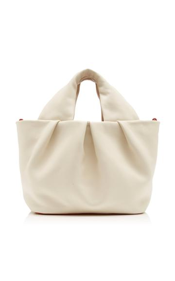 Staud Lera Leather Top Handle Bag