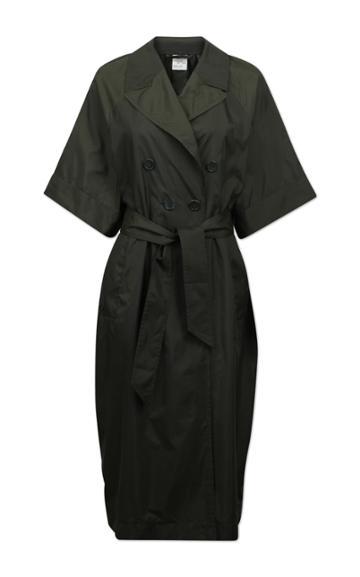Baum Und Pferdgarten Devore Tech Short Sleeved Coat With Belt