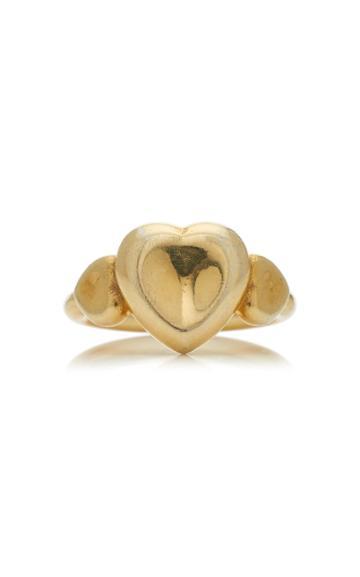 Christina Alexiou Triple Heart Ring