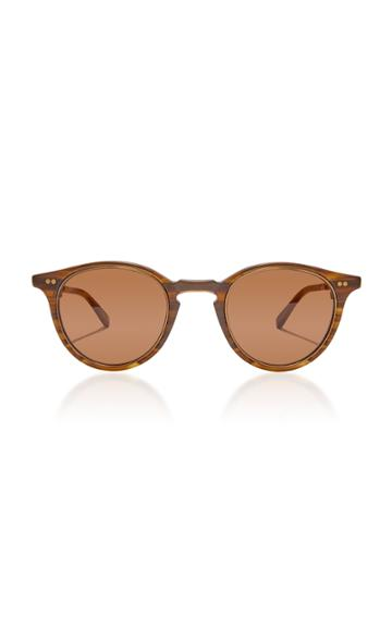 Mr. Leight Marmont S 48 Round-frame Acetate Sunglasses