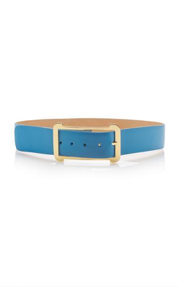 Elie Saab Low Waist Leather Belt