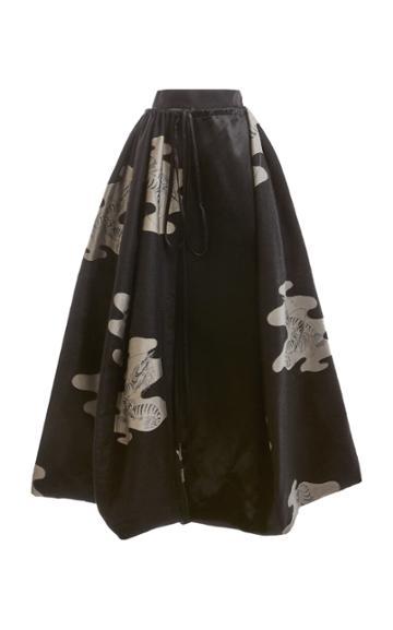 Moda Operandi Loewe Jacquard Skirt