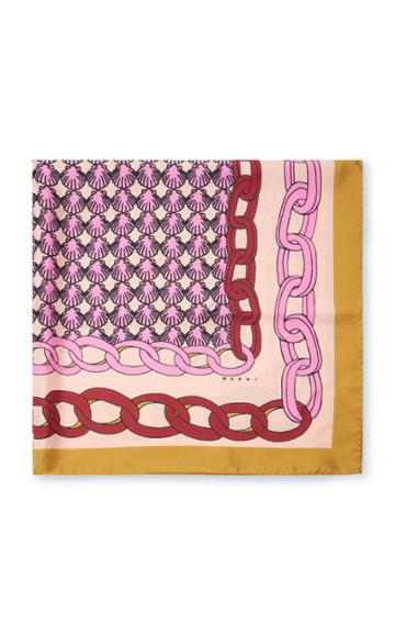 Marni Printed Silk-twill Scarf