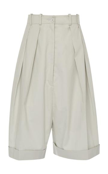 Nina Ricci Cotton Gabardine Short