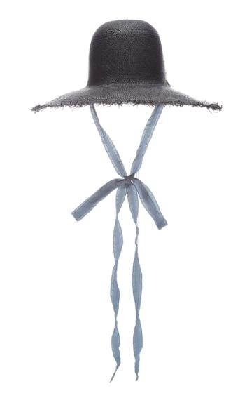 Brock Collection X Nick Fouquet Frayed Straw Sun Hat