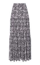 Veronica Beard Serence Cotton Skirt