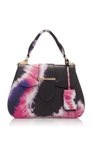 Prada Large Tie-dye City Calf Cartella Bag