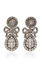 M'o Vintage One-of-a-kind Diamond Earrings