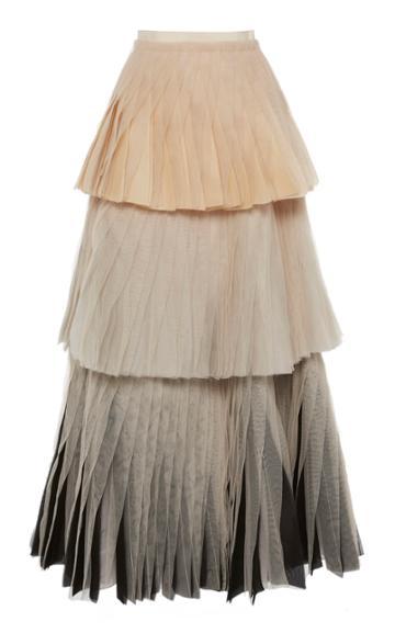 Maison Rabih Kayrouz Tiered Tulle Skirt