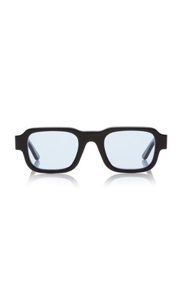 Thierry Lasry Isolar 2 Rectangular-frame Acetate Sunglasses