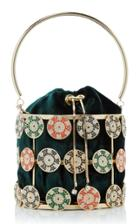 Moda Operandi Rosantica Flash Crystal Poker Top Handle Bag