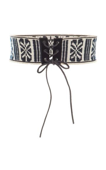 Anna Sui Gathering Of The Tribes Belt