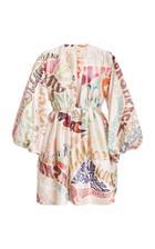 Moda Operandi Zimmermann Ladybeetle Word Mini Dress