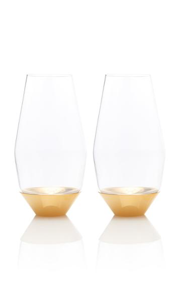 Puiforcat Set-of-two Gold Champagne Glasses