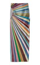 Rahul Mishra Chromatic Midi Skirt