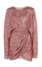 Moda Operandi Redemption Draped Mini Dress Bat Sleeves