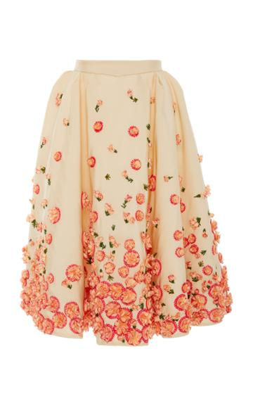 Zac Posen Rosewater Ombre Skirt