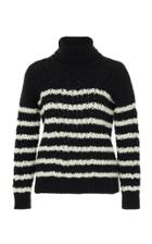 Loewe Striped Cable Knit Sweater