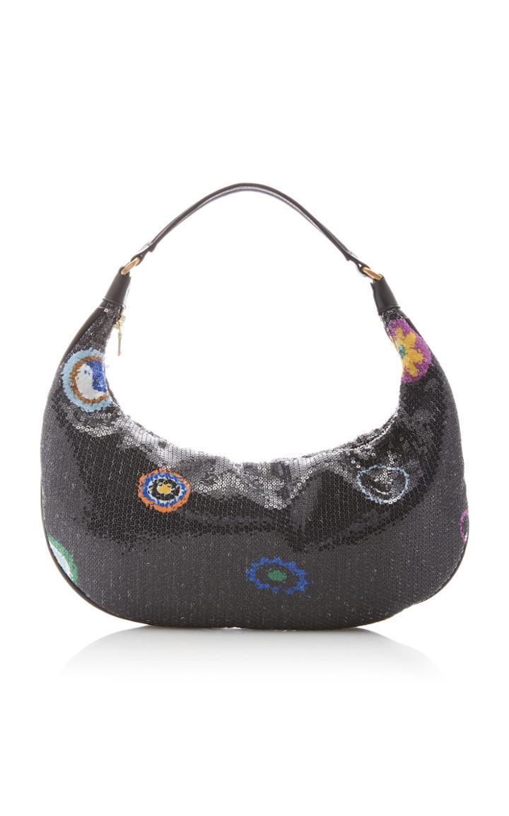 Moda Operandi Staud Sasha Embellished Shoulder Bag