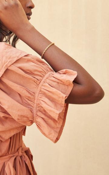Moda Operandi Loeffler Randall Kayla Gold-tone Chain Bracelet