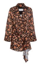 Moda Operandi Significant Other Atillio Draped Satin Dress