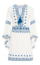 Talitha Anya Embroidered Frill Sleeve Dress