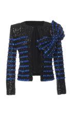 Balmain Embellished Stripe Jacket