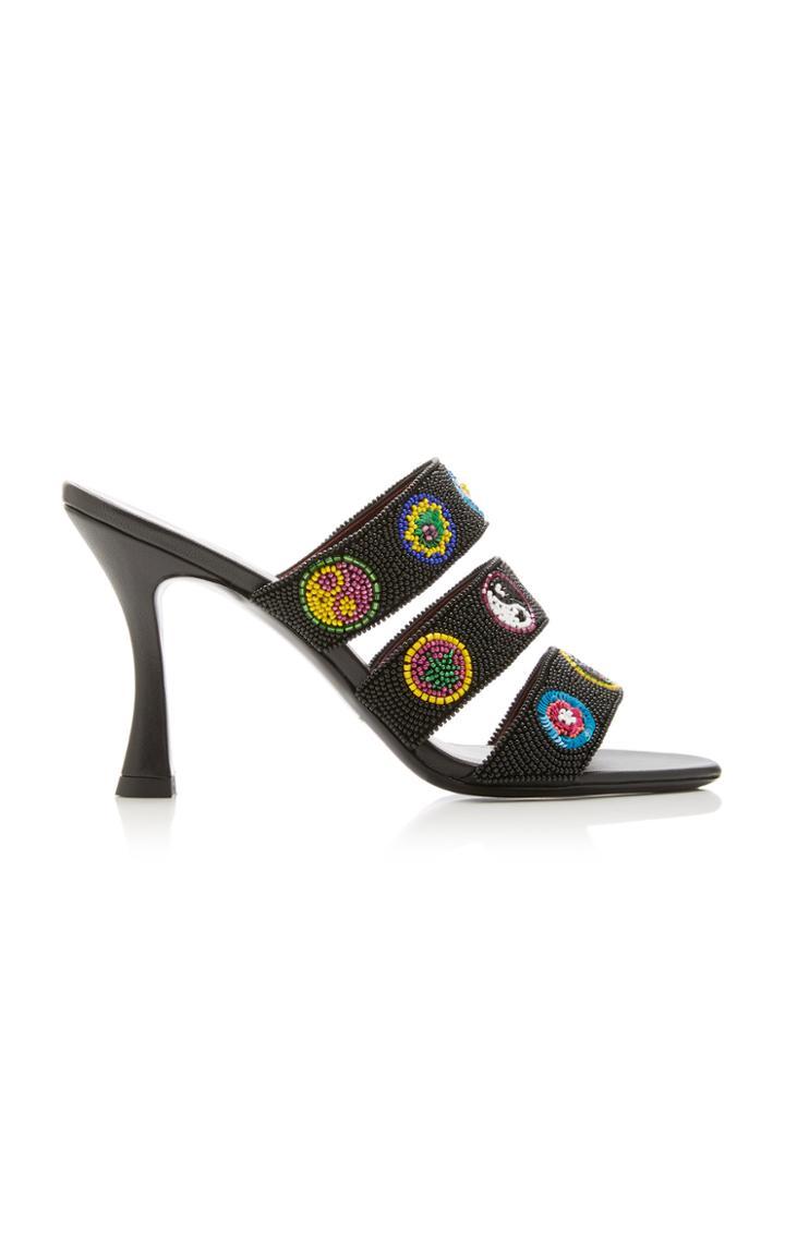Moda Operandi Staud Sonny Beaded Sandals