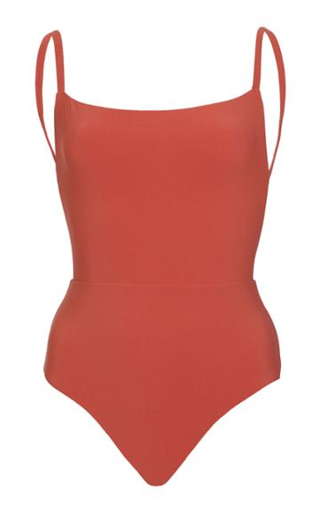 Anemone Square-neck One-piece Swimsuit