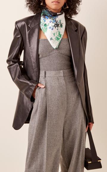 Givenchy Floral-print Silk Scarf