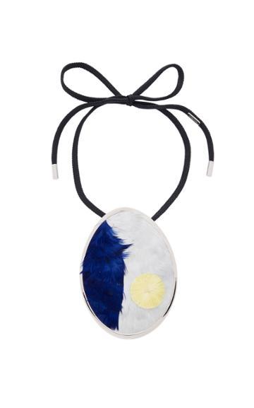 Maison Margiela Big Pendant Necklace With Pendant Marqueretrie
