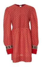 Alix Of Bohemia Ruby Doll Poppy Bloom Dress