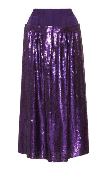 Tibi Sequins Full Skirt