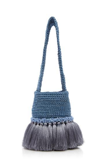 Johanna Ortiz Little Paws Woven Bag