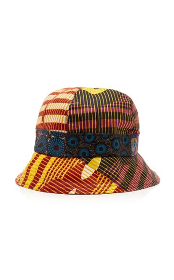 Albertus Swanepoel Patchwork Cotton Bucket Hat