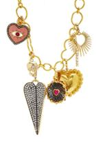 Moda Operandi Have A Heart X Muse Heart Charms Necklace