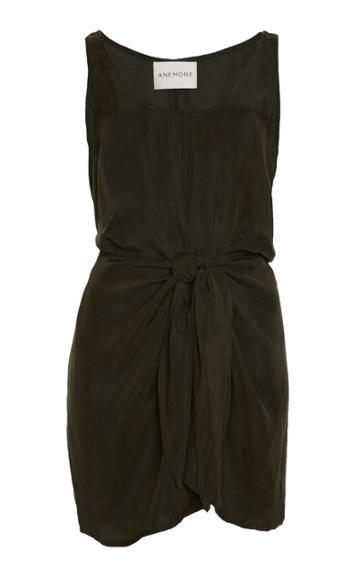 Anemone Sleeveless Wrap Dress