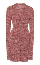 Bottega Veneta Marled Rib-knit Cotton Cardigan