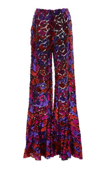 Anna Sui Festive Sequins Pant