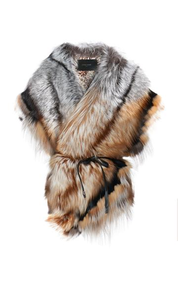 Lysa Lash Furs Ruffled Collar