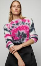 Prada Tie Dye Wool Cashmere Knit Sweater