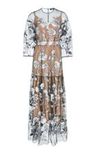 Alena Akhmadullina Floral Embroidered Dress