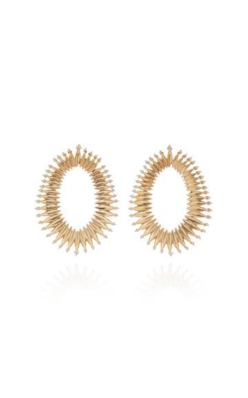 Hueb Moldura Hoop Earrings