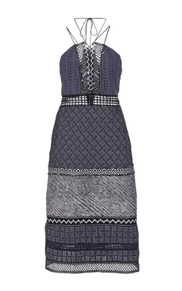 Jonathan Simkhai Patchwork Dress