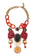 Lulu Frost M'o Exclusive Vintage Pharoah Necklace