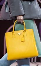 Moda Operandi Prada Structured Saffiano Leather Tote